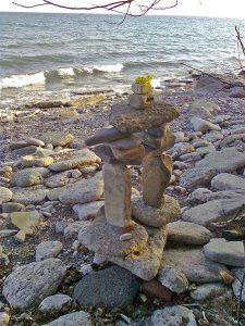Inukshuk - 'you are on the right path . . .