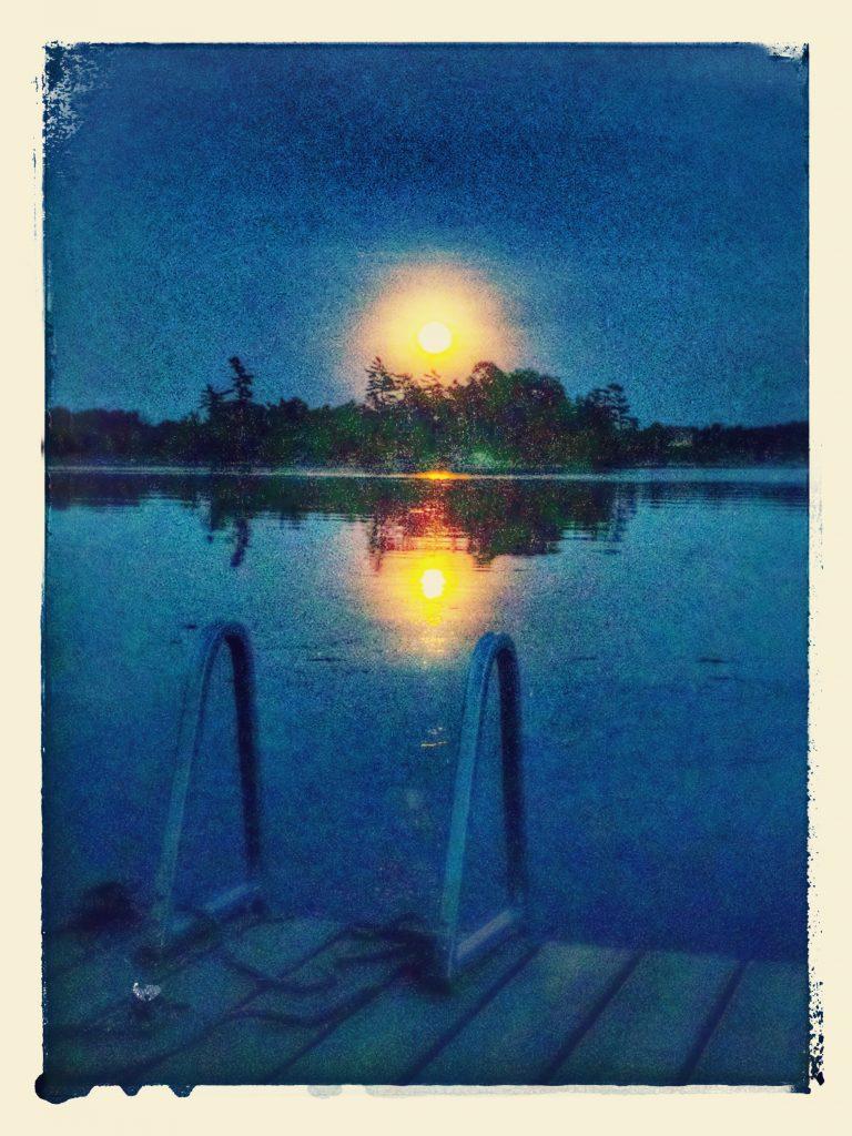 Moon-fire