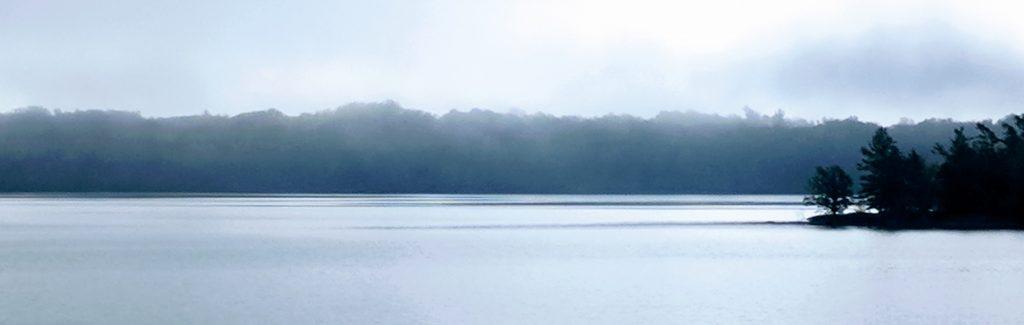 Inky lake