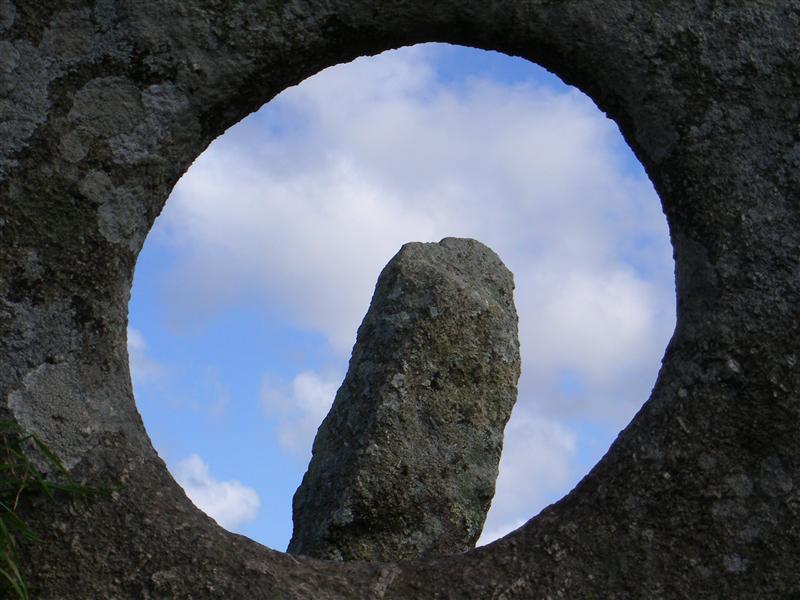 Finger stone