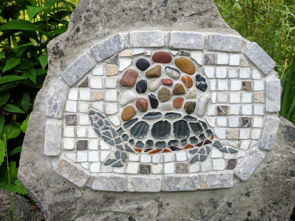 My Turtle Mosaic (detail)